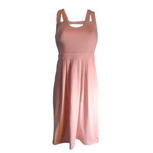 Only Hearts Triangle Peek-a-boo Dress